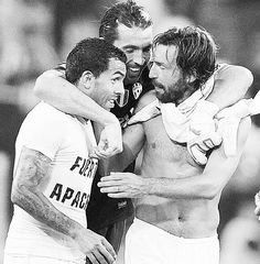 Tevez, Pirlo and Buffon  Juventus