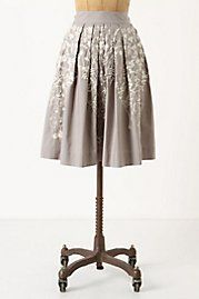 Hanging wisteria skirt from Anthropologie