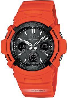 To już drugi w tym sezonie pomarańczowy zegarek ale tym razem bardzo wypasiony.