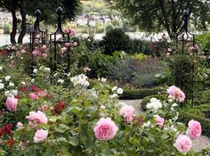 Rose Pillars, Rose Obelisks, Rose Arches - Classic Garden Elements - Designs for gardens with Roses