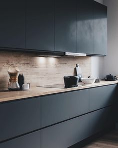 KS Kitchen on Behance KS Kitchen on Behance – Minimalist 2020 Kitchen Room Design, Modern Kitchen Design, Home Decor Kitchen, Interior Design Kitchen, Kitchen Furniture, New Kitchen, Kitchen Dining, Kitchen Layout, Kitchen Ideas