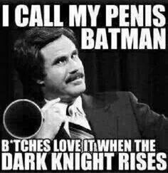 Because of know of many bat man fans I'm posting this for them. Maybe they'll get a kick out of it