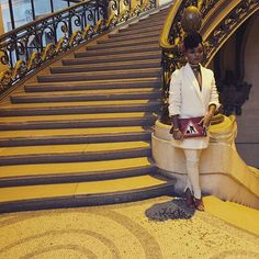 Noooo! We weren't ready! (in our Kevin Hart voice.) Janelle Monae has always had style, but she took it up several notches and was out here slaying and slaughtering for Paris Fashion Week. Pulling …