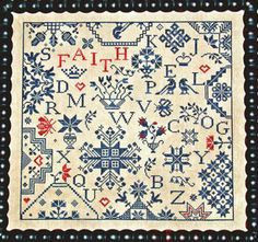 cross stitch pattern : simple gifts faith praiseworthy stitches counted cross stitch pattern diy. $14.00, via Etsy.