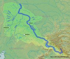 Irtysh River | #GeologyPage