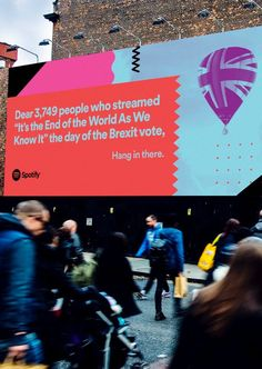 """""""The new Spotify billboards are gold"""""""