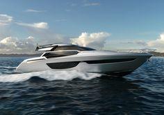 The Riva 76' Coupé is born - via www.themilliardaire.co