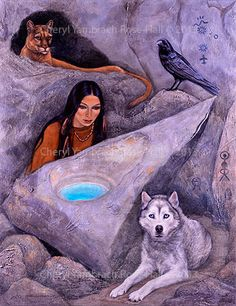 Lemurian Dreaming Pool (2013) by Cheryl Yambrach Rose