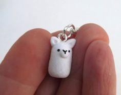Alpaca Charm, Stitch Marker, Llama Charm, Progress Keeper, Polymer Clay Charm, Cute Planner Charm Accessory