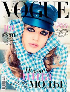 Georgia May Jagger for Vogue Russia by Ellen Von Unwerth