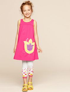 """Hanna Andersson """"Get Appy Dress"""""""