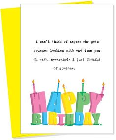 younger Greeting Card from Uncooked