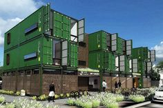 Phoenix Has Apartments Made Out of Shipping Containers | Digital ...