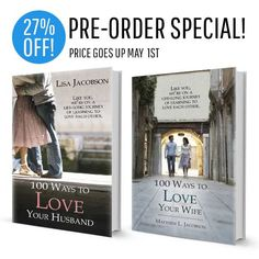 (PRE-ORDER SPECIAL!)  Husband and Wife 100 Ways to Love Bundle