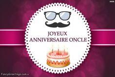 Joyeux Anniversaire Oncle! Happy Birthday, Birthday Cake, Happy Aniversary, Happy Brithday, Birthday Cakes, Urari La Multi Ani, Birthday Cookies, Cake Birthday, Happy B Day