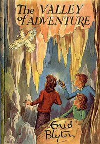 The Valley of Adventure by Enid Blyton - Cover art by Stuart Tresilian