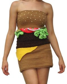 "Hamburger dress anyone? This is another in the category of ""Why on earth??"""