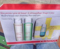 """Products I Love📍 on Instagram: """"El primer paso para el cuidado de la piel Tónico y Desmaquillante de @clarinsusa compré este set en la tienda Clarins Factory Outlet y…"""""""