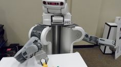 Crowdsourcing could help robots more quickly learn the best way to accomplish complicated ...