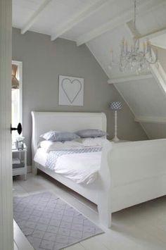 slaapkamer in lichte kleuren