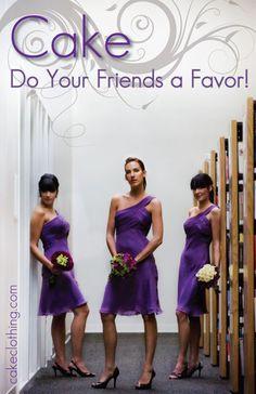 Cake-Bridesmaid-Dresses
