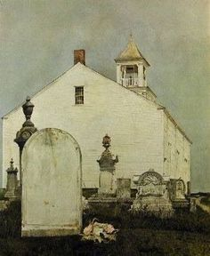 Andrew Wyeth, Perpetual Care, 1961 on ArtStack
