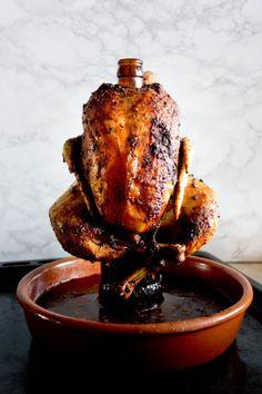 Kurczak pieczony na butelce piwa - 5 rad jak to zrobić - przepis w Meatmyday.pl French Toast, Pork, Meals, Breakfast, Essen, Pork Roulade, Breakfast Cafe, Meal, Pigs