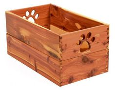 Dynamic Accents All Wood Dog Toy Boxes, Madison plz make me this!!