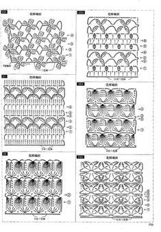 Archivo de álbumes Crochet 101, Crochet Fabric, Crochet Diagram, Crochet Chart, Learn To Crochet, Crochet Motif, Crochet Flowers, Free Crochet, Crotchet Patterns