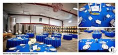 The couple went for a classy blue theme that looked amazing at this Methven Family Vineyards Wedding and Wedding reception.