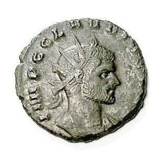 Claudius Gothicus, who seized power after the murder of Gallienus, was the 42nd Roman Emperor from 268 to 270. He had been the leader of the former emperor's cavalry. During his reign he defeated the Alamanni (Germanic tribe) and the Goths (the victory over the latter earned him his surname). He died from an epidemic while on campaign.
