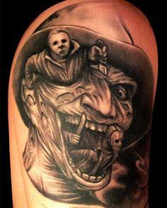 horror movie tattoos