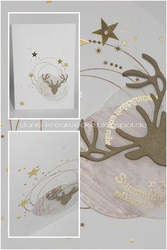 Dani's Kreativecke: Weihnachtskarte - die 15.
