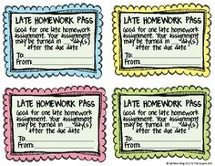 Homework Passes Pros And Cons - image 10
