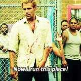 John Constantine running that Mexican prison like. A. Boss.