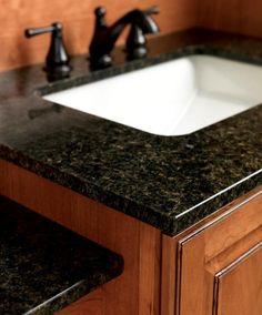ubatuba granite with cherry cabinets - Google Search