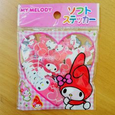 Hey, I found this really awesome Etsy listing at https://www.etsy.com/listing/184185026/sanrio-japan-my-melody-kawaii-sticker