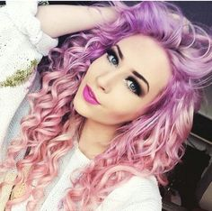 Purple pink ombre hair                                                                                                                                                                                 Mehr