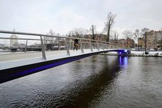 Urban Design Solutions for Protecting Pedestrians: Sweden's Self-De-Icing Tullhus Bridge Takes the Cake - Core77