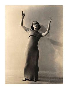 Soichi Sunami - Martha Graham, 1928 /  Vintage Movement <3