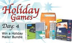 Now in session! Enter for a chance to win this awesome mailer bundle. See how.  http://blog.shoplet.com/office-supplies/holiday-games-12-days-of-giveaways/