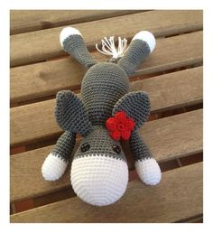 free donkey crochet / about tall // Amigurumi Crochet pattern donkey Always aspired to be able to knit, nonetheless undecided the place to begin? This specific Utter . Crochet Amigurumi, Crochet Toys, Crochet Baby, Knit Crochet, Poncho Knitting Patterns, Knitting Designs, Crochet Patterns, Big Knit Blanket, Knitting For Beginners