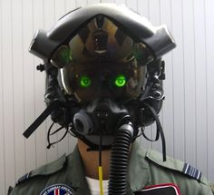 The F-35 pilot's augmented-reality helmet