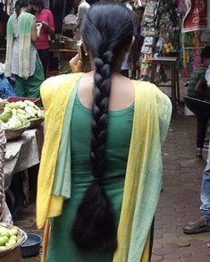Open Hairstyles, Bun Hairstyles For Long Hair, Indian Hairstyles, Braided Hairstyles, Blonde Hair Black Girls, Long Black Hair, Beautiful Braids, Beautiful Long Hair, Beautiful Hairstyles