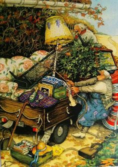 Inge Look - Old Ladies / 16 (moving to Sedona! Old Lady Humor, Look Older, Whimsical Art, Old Women, Illustrators, Folk Art, Art Drawings, Illustration Art, Old Things