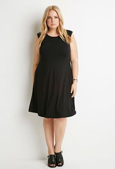 Plus Size Classic Sheath Dress | Forever 21 PLUS - 2000141858