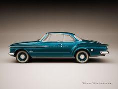 "A Garagem Digital de Dan Palatnik | The Digital Garage Project: ""What if..."" 1960 Valiant Coupe"