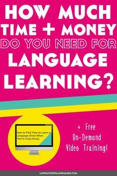 How long does it take to learn a language? 3 months? 3 years? 30 years? And how much money does it cost to learn a language? I've analysed my experience learning 13 languages over the past 20  years to find out. ➔  #Motivation #Inspiration #LanguageLearning Language Study, Learn A New Language, Study Motivation, Motivation Inspiration, Advanced Grammar, Korean Language Learning, Portuguese Language, Spanish Words, Grammar And Vocabulary