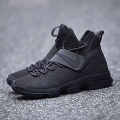 Hot Sale Nike Lebron 11 Black Red White 616175 140