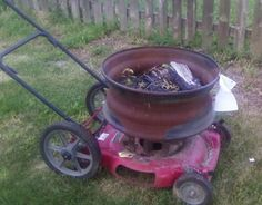 Tractor Wheel Fire Pit. - WeldingWeb™ - Welding forum for pros and enthusiasts